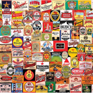 Beer Labels Puzzle 1000 pc.