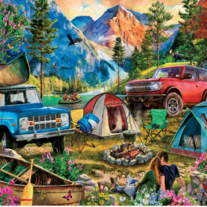 Camping Trip Puzzle 1000 pc.