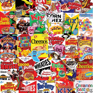 Cereal Boxes Puzzle 1000 pc.