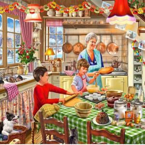 Christmas at Grandma's Puzzle 1000 pc.