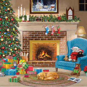 Christmas Eve Puzzle 1000 pc.