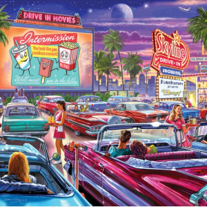 Drive-In Movie Puzzle 1000 pc.