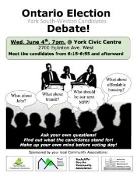 Ontario Election Debate poster v.5 final