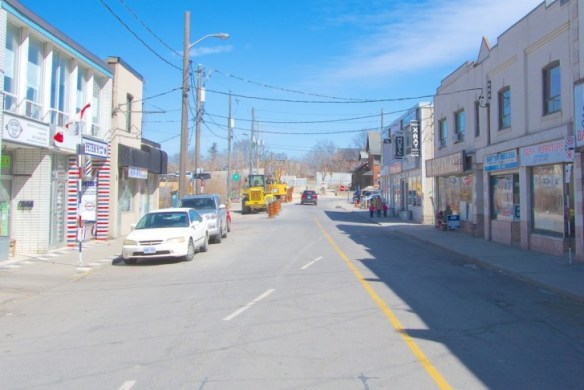 John Street looking towards Rosemount March 2015