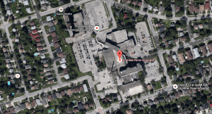 The Humber River Regional Hospital Site. From Google.ca