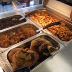 Lutong Pinoy food display