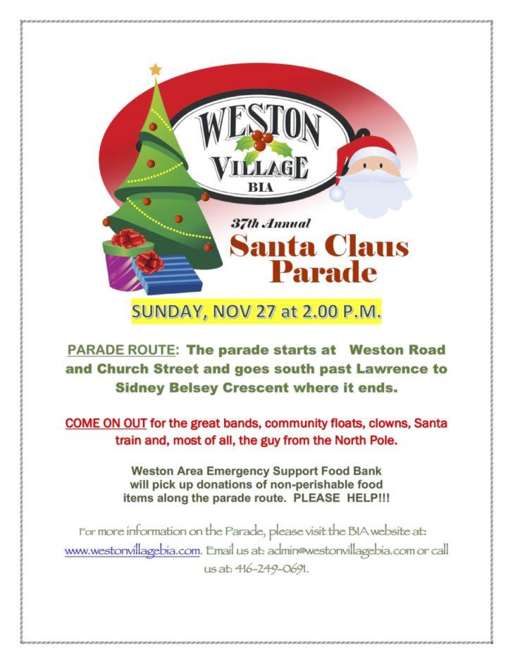 Santa Claus Parade poster