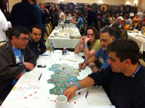 BGG Con: Moritz playing Magic Realm