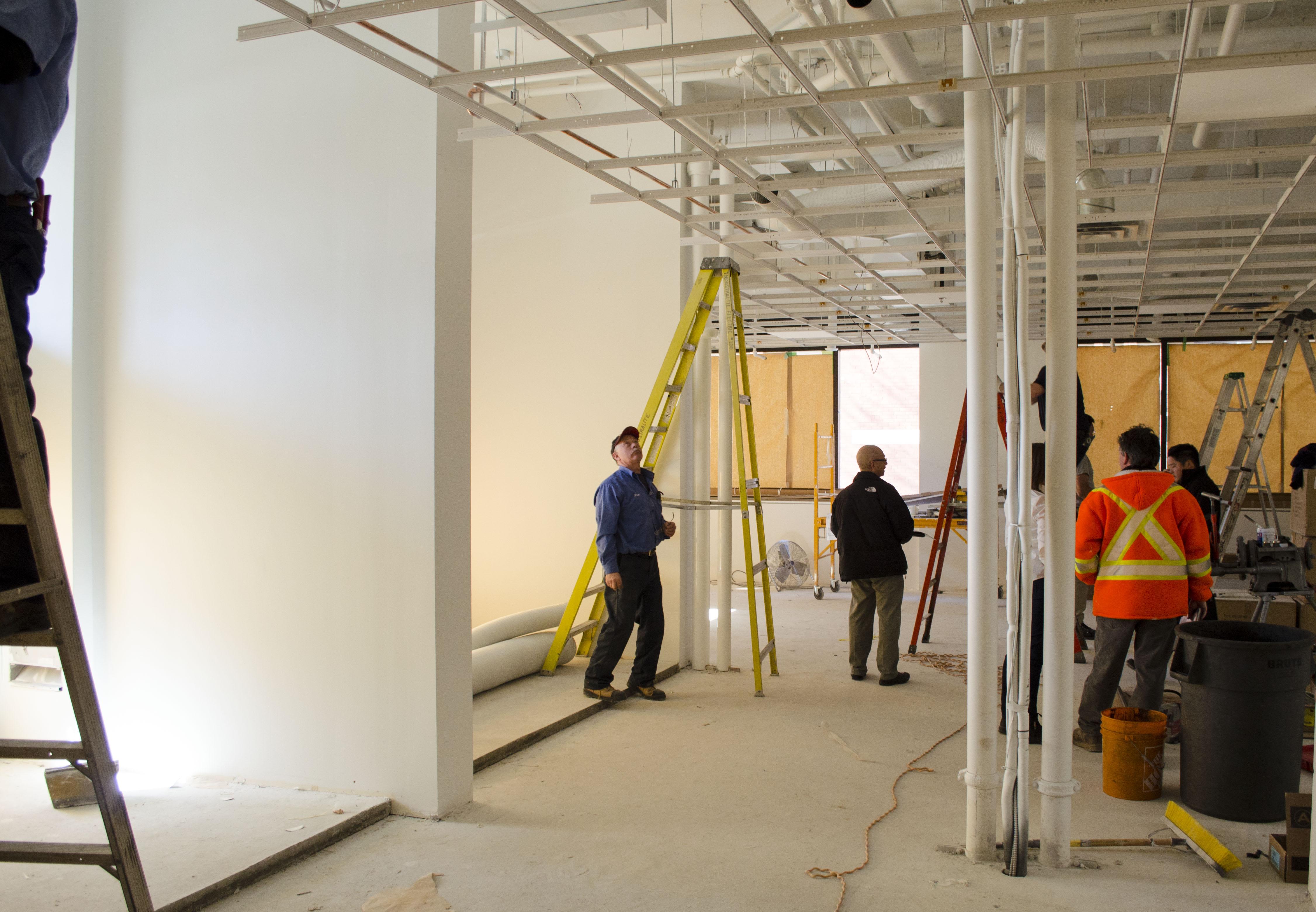 Westparks Associates Collaborative Studios DIRTT Green Learning Centre Under Construction