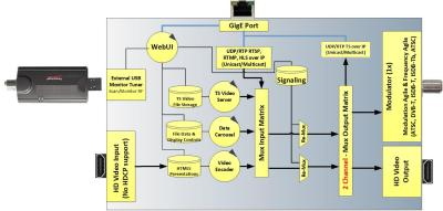 FlexStream MX-100CC Diagram