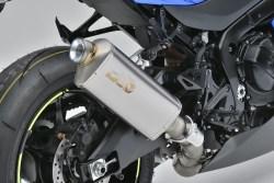 GSX-R1000R SLIP-ON  認証 19年モデル専用マフラーカバー付属