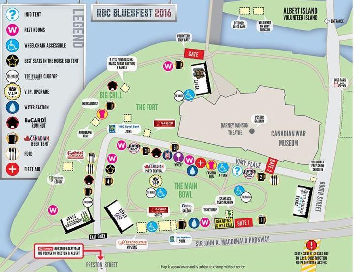 bluesfest map 2016