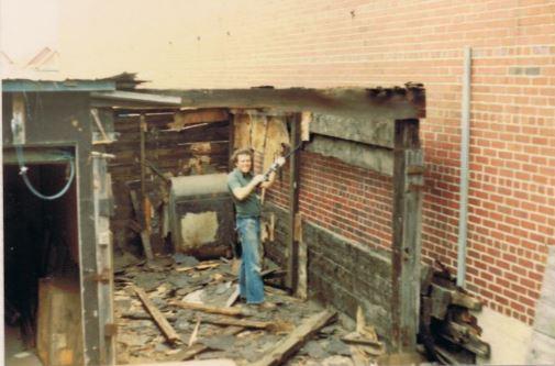 demolish garage