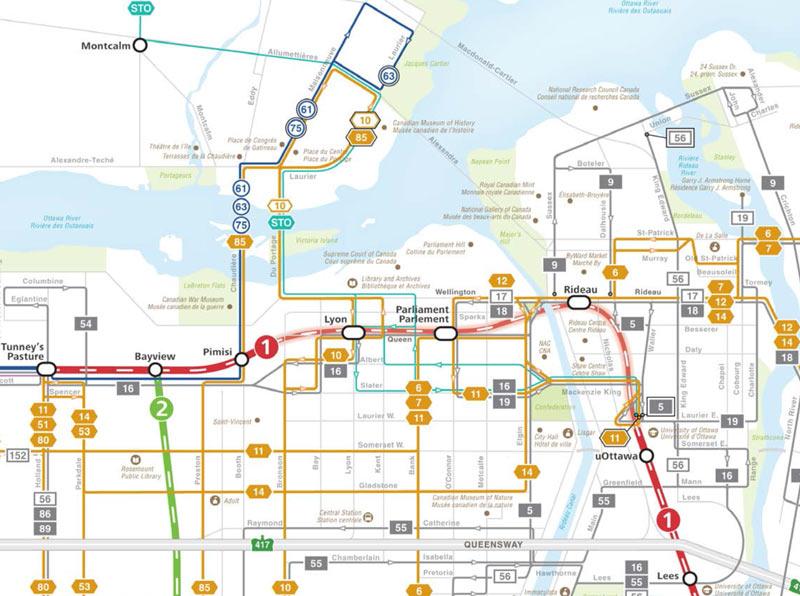 Ottawa Carleton Regional Transit Mission Route 222 Albert Bay