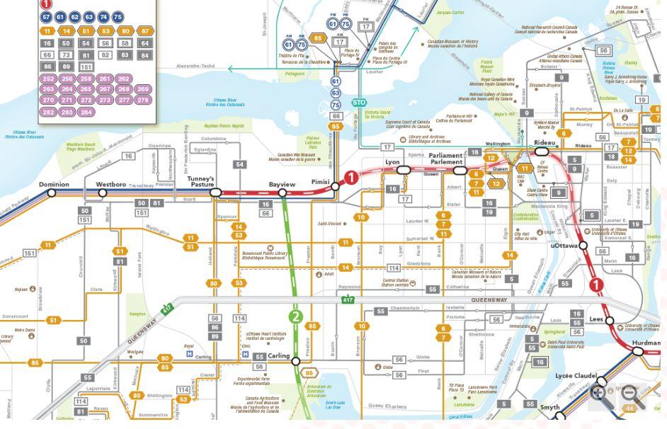 New Confederation Era Bus Routes