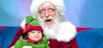 Visiting Santa at Westside Pavilion