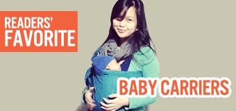 Readers' favorite baby carriers