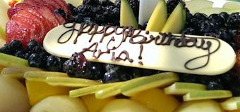 Aria's first birthday / My Village