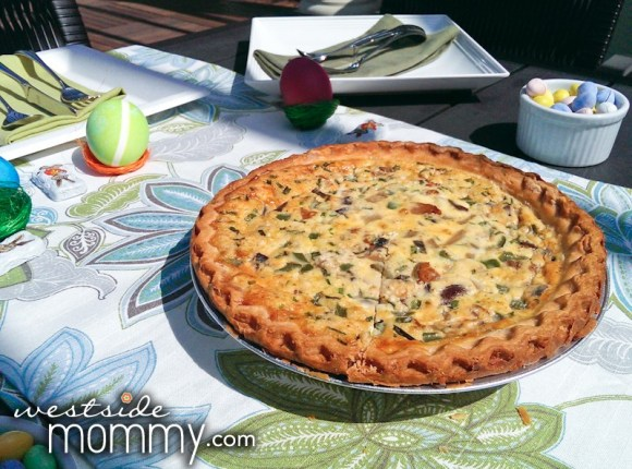 Homemade Quiche!