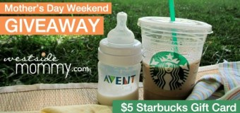 Mother's Day Starbucks Gift Card Giveaway