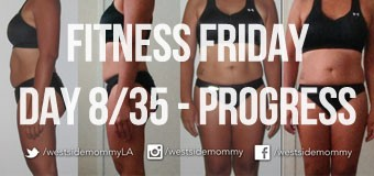 Fitness Challenge Progress Photo – Day 8/35