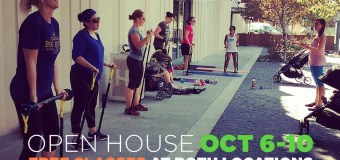 One week of FREE Baby Boot Camp Classes and Open House Party at Playa Vista
