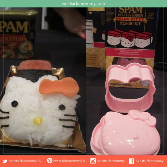 Yes, I bought one of these! Limited Edition Spam musubi kit Hello Kitty Con exclusive!