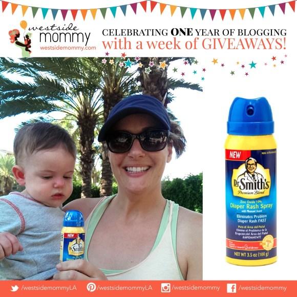 Frankie, winner of Dr. Smith's Diaper Rash Spray