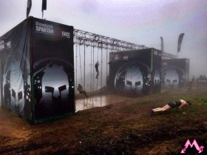 fog at the Spartan Race in Virginia (photo courtesy of Muddy Mommy)