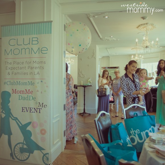 Club MomMe Tea Party Momfluencers Social Media Moms at the Culver Hotel