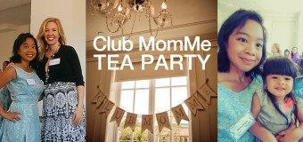 Club MomMe Tea Party at The Culver Hotel for Snuza Monitors and SleepBelt