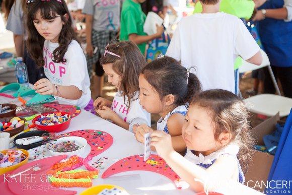 Kid's Corner at Kickin' Cancer Family Expo