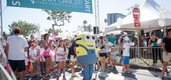 Kid Activity Highlights from the 2015 Kickin' Cancer Event in Brentwood