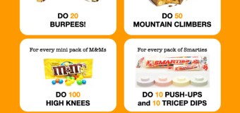 A fun way to work off that Halloween Candy