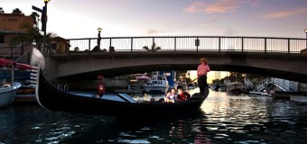 The Gondola Getaway in Long Beach is a romantic staycation activity