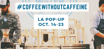 Free Coffee October 14-23 in Venice at Swiss Water® Pop-Up