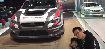 LA Auto Show 2016 Review by Subaru-driving Dad Nickie Quan