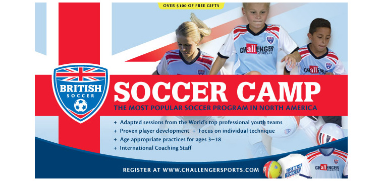 7758d7584 Incredible Soccer camp plus FREE SOCCER JERSEY, SOCCER BALL, T-SHIRT &  POSTER