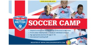 Incredible Soccer camp plus FREE SOCCER JERSEY, SOCCER BALL, T-SHIRT & POSTER