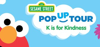 Sesame Street K is for Kindness Tour Saturday Feb. 25th at Westfield Culver City