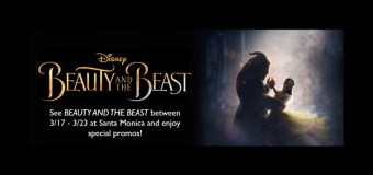 Beauty and the Beast Concessions Combo PROMO at ArcLight Santa Monica