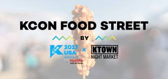 Get your Korean Food Fix at KCON Food Street by KTOWN Night Market