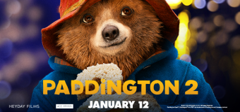 """Paddington 2"" comes to theaters January 12th"