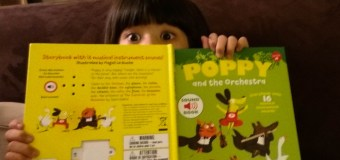 Two books that introduce kids to musical instruments