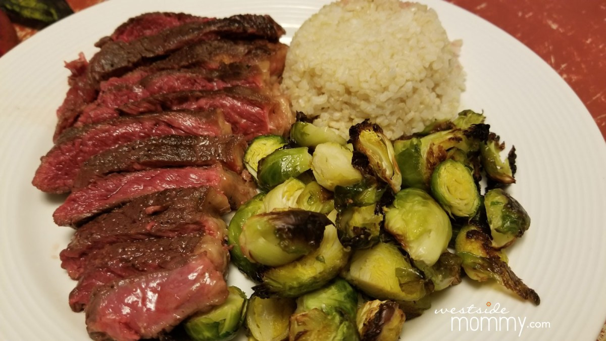 Sous Vide New York Strip Steaks - Sponsored by Milk & Eggs