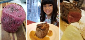 Our first filet mignon – Sponsored by Milk & Eggs
