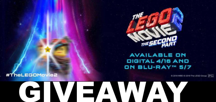 Giveaway - The LEGO Movie 2: The Second Part DVD