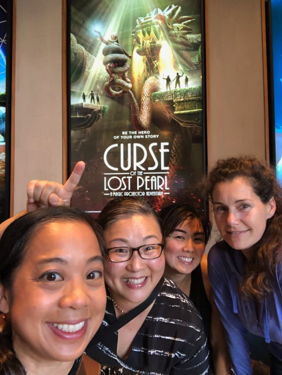 friends at Curse of the Lost Pearl Dreamscape Immersive adventure