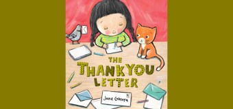 """Book Review: """"The Thank You Letter"""" by Jane Cabrera"""