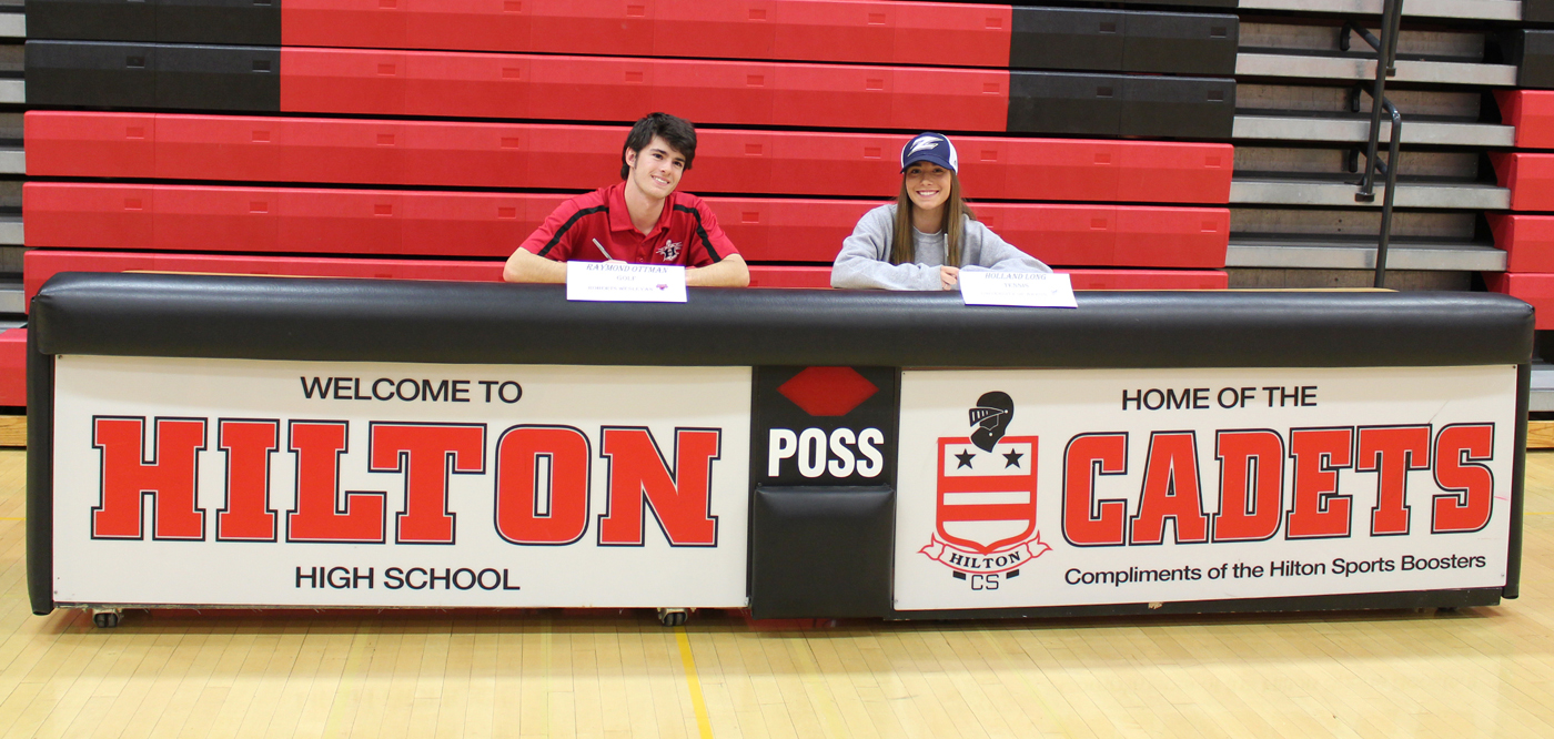 Hilton High School Seniors Ray Ottman And Holland Long Sign Letters Of  Intent To Play Collegiate
